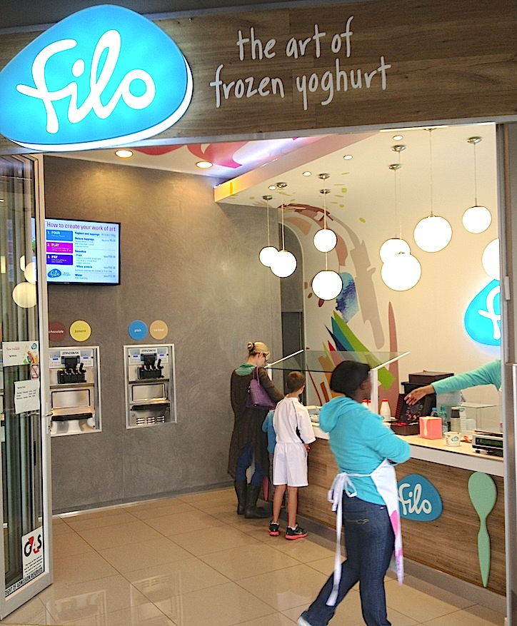 To gym or to eat - Filo puts up a good fight against Virgin Active.