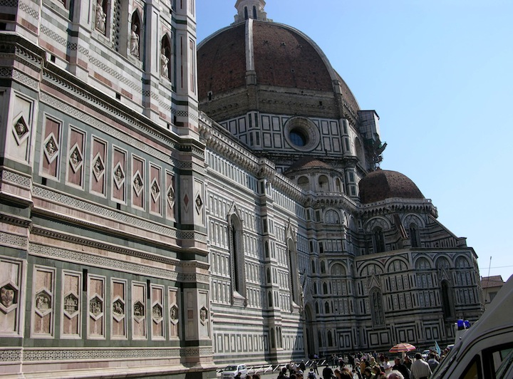 il Duomo - the heart of Florence and where Prof. Langdon discovers a series of clues.