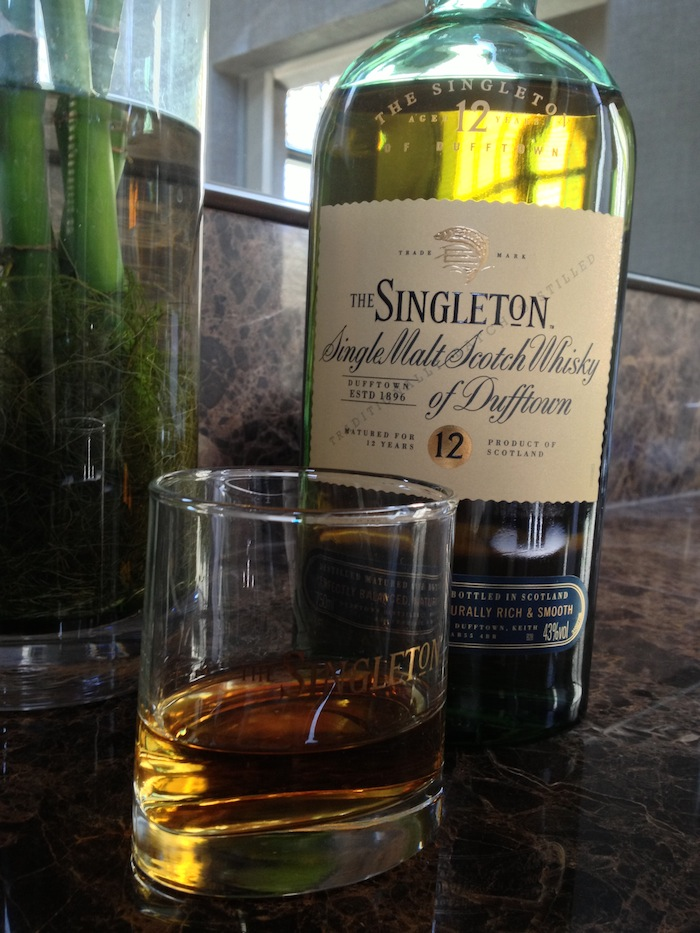 The Singleton 12 year old single malt whisky of Dufftown
