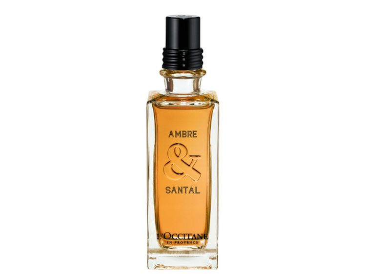 L'Occitane's Ambre & Santal fragrance is unmistakably strong and masculine