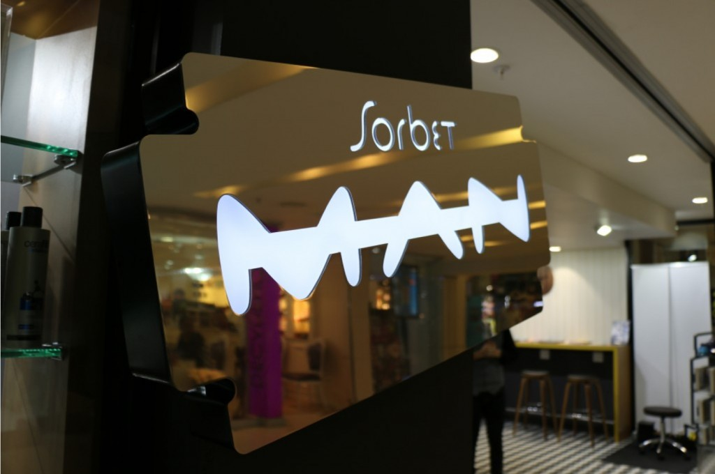 Sorbet Man in Sandton City - the first of many to come, we hope.