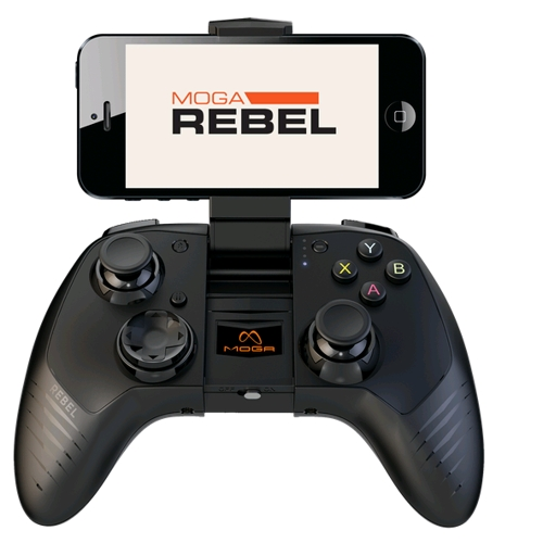 Perfect for the long drive to Durbs - turns your iOS or Android phone into a handheld game