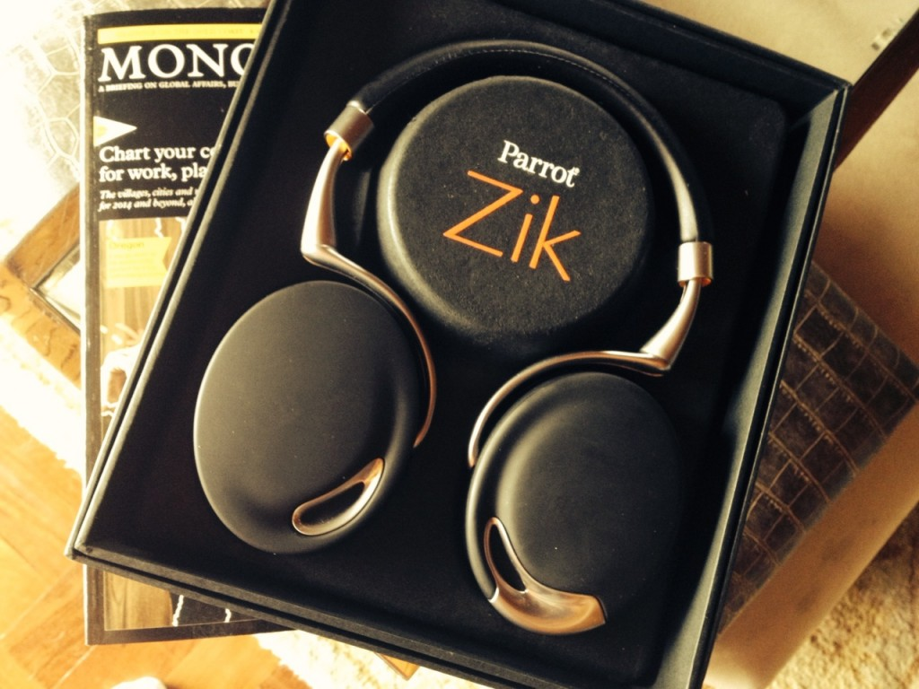 Beautiful and powerful - the Parrot Zik by Starck is the ultimate headphone