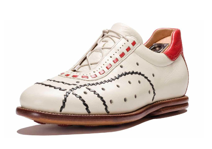 Ah, beautiful hand embroidered Italian leather sneakers!