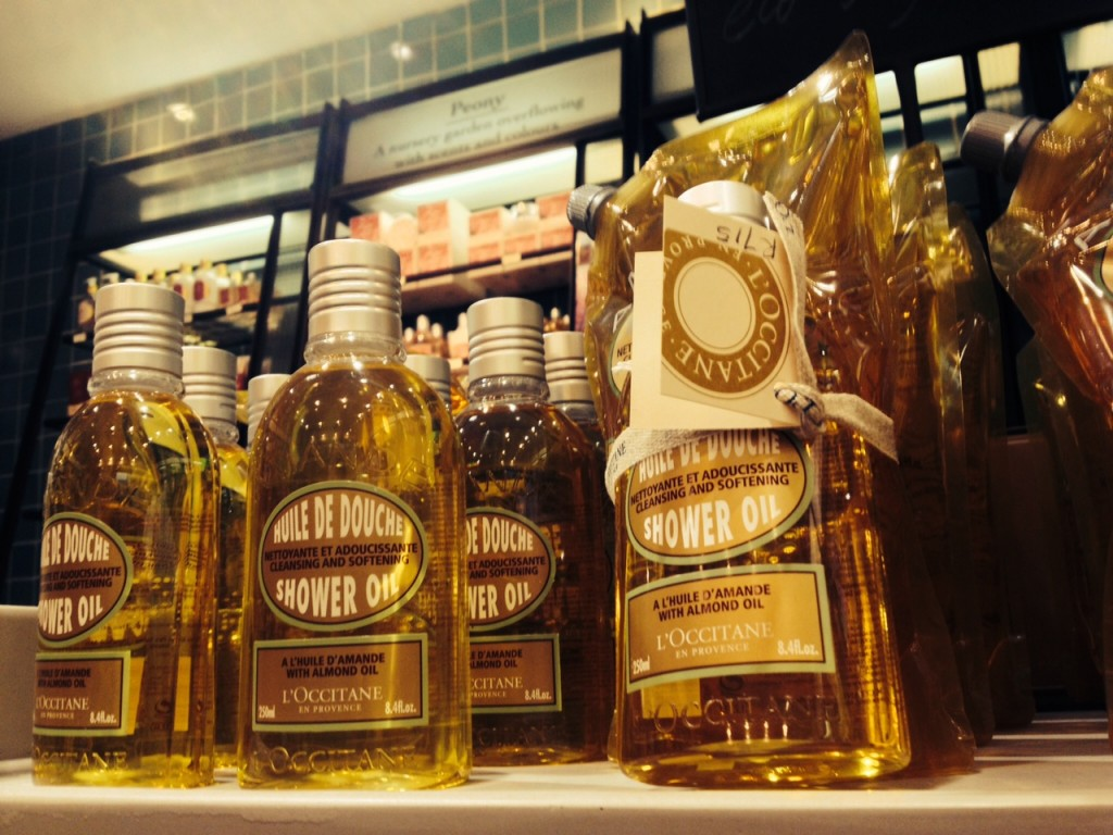 Enough to indulge, The L'Occitane Almond Shower Oil And Eco-Refill Pack