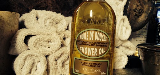 A perfect product for the shower - The L'Occitane Almond Shower Oil