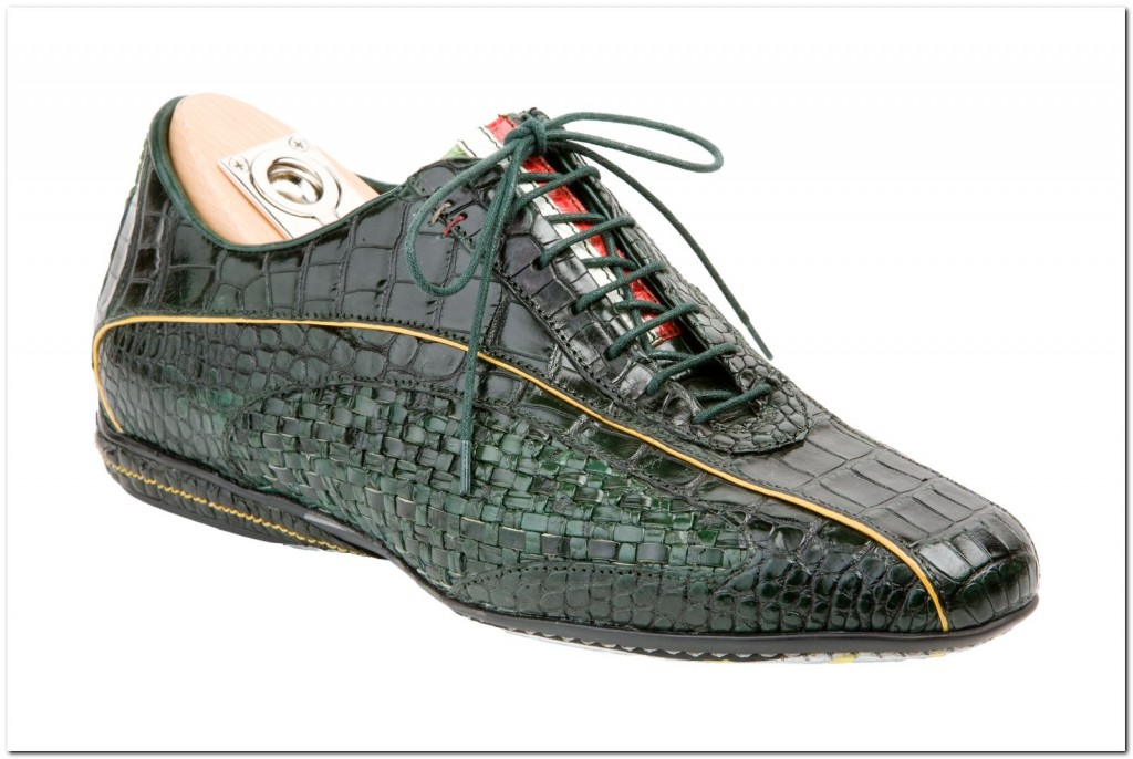 While I'm not the one for crocodile leather, these are rather interesting.