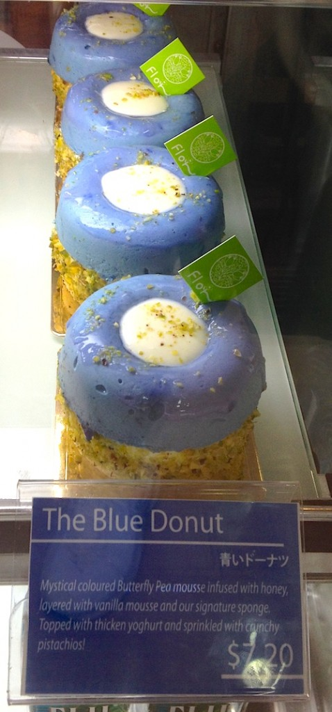 The heavenly Blue Donut from Flor