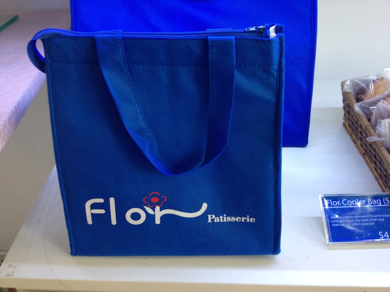 Because the best pastries in Singapore require their own Flor cooler bag.