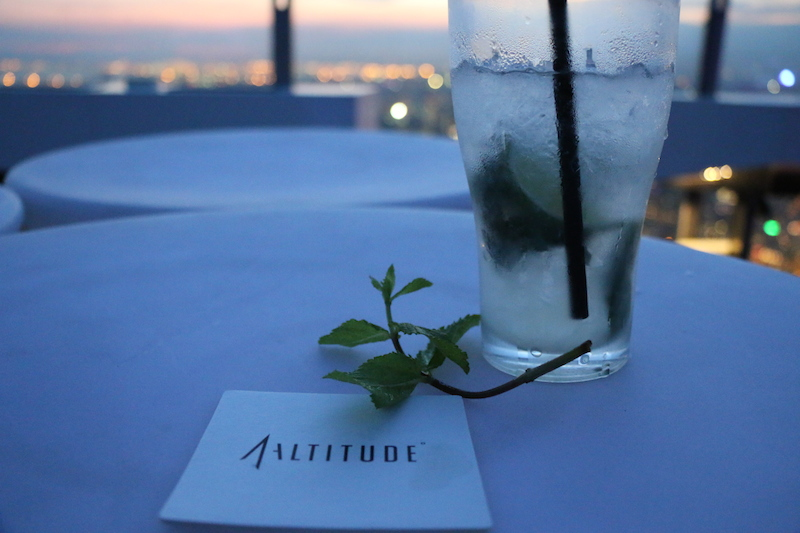 Be the very last to see the Sun go down - with a Mojito in hand.