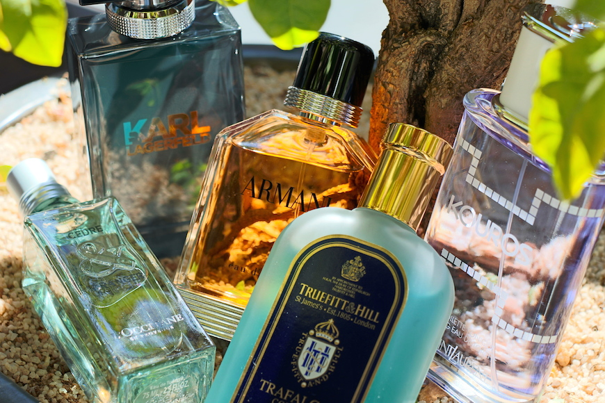 A scent for all seasons - a selection of the newest colognes on the market.