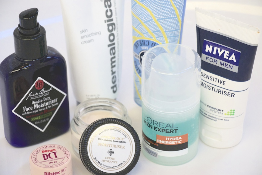Winter in Johannesburg can be tough on the skin. Here are a few of the best moisturisers available for guys needing a bit more moister.