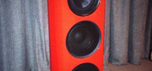 This is the Linn Klimax Exakt 350 Loudspeaker - Lamborghini Red. If you have to ask for the price, you can;t afford it.