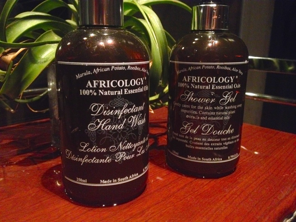For the home spa feel - I highly recommend these two from Africology.