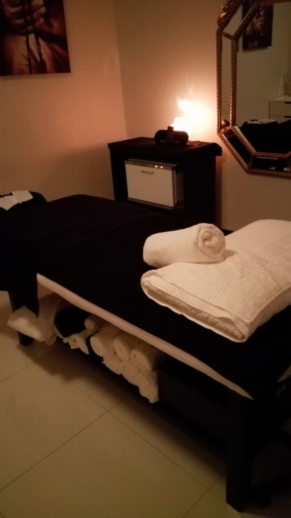 The spa rooms are surprisingly quiet and relaxing, considering that the spa is located on 4th Ave Pankhurst.