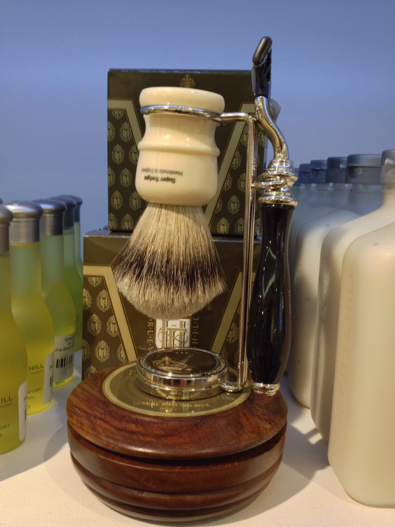 Going old school with the men's shaving kit from Truefitt & Hill