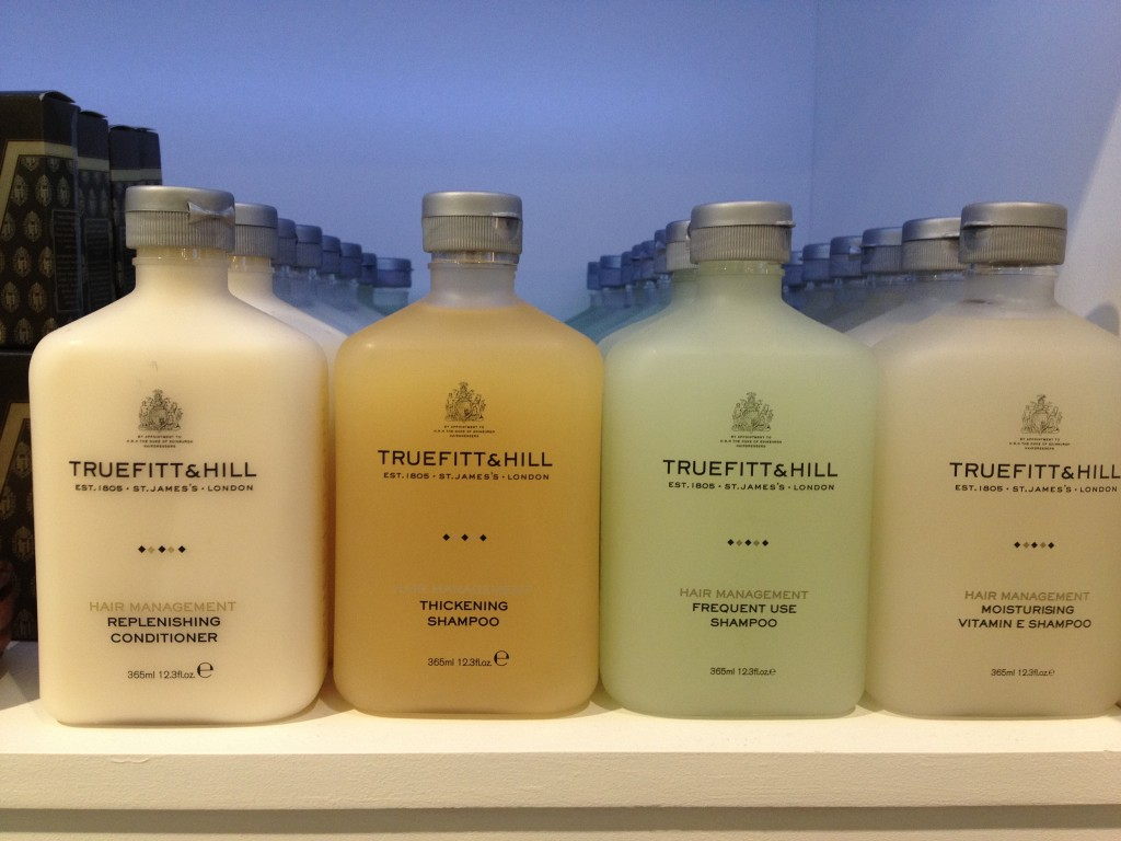 The haircare range from Truefitt & Hill