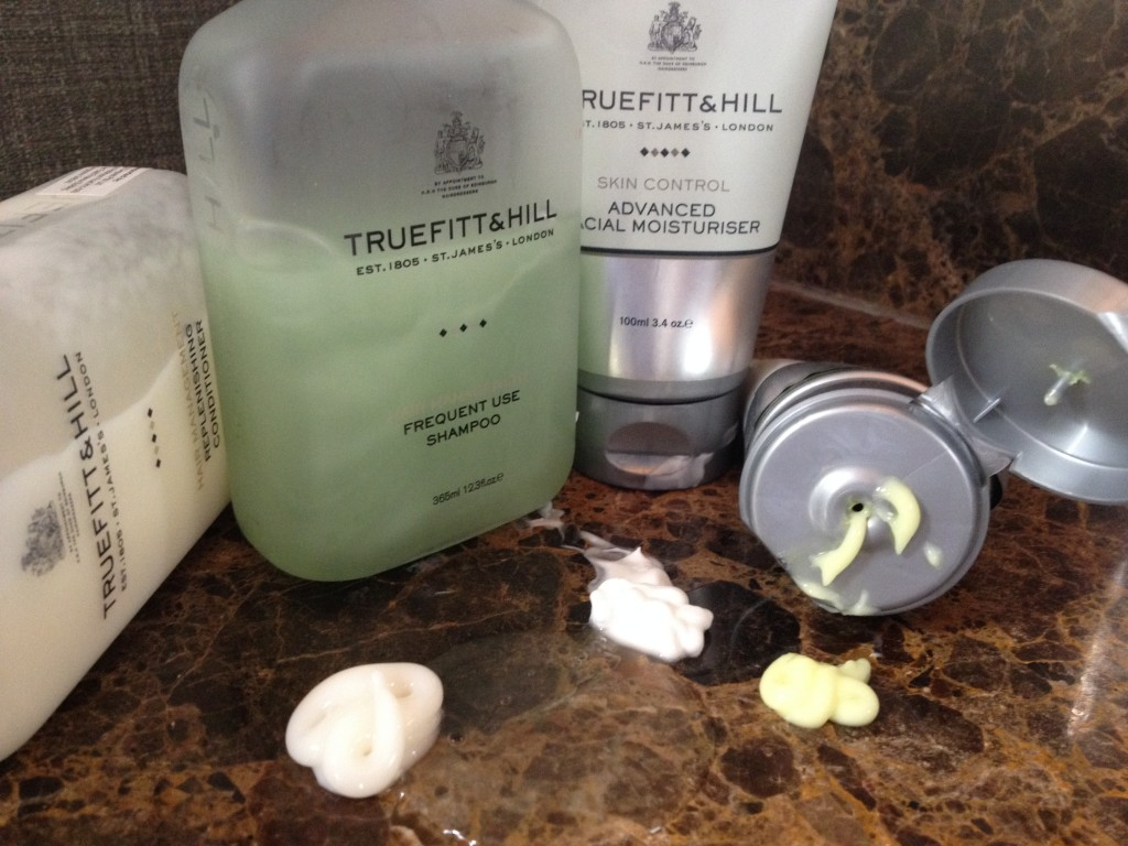 Hair and Skincare products from Truefitt & Hill, available in South Africa at Victorian Bathrooms.