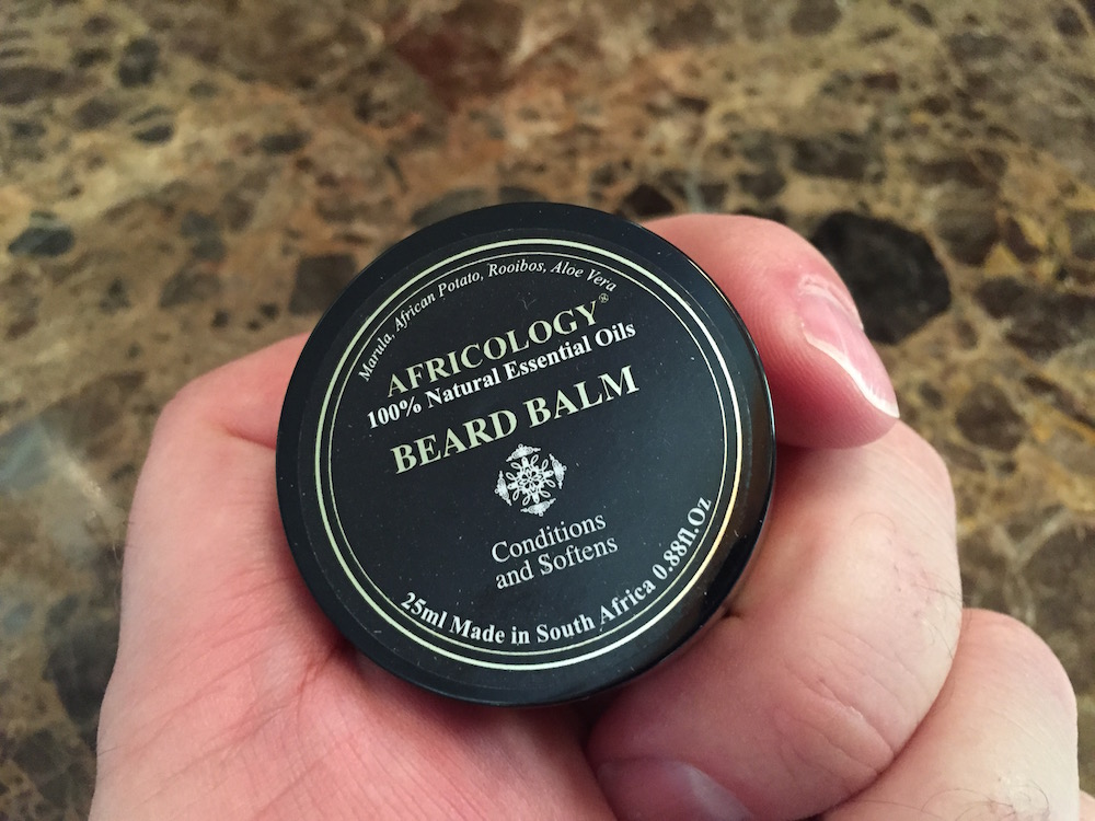 And finally, a beard balm.
