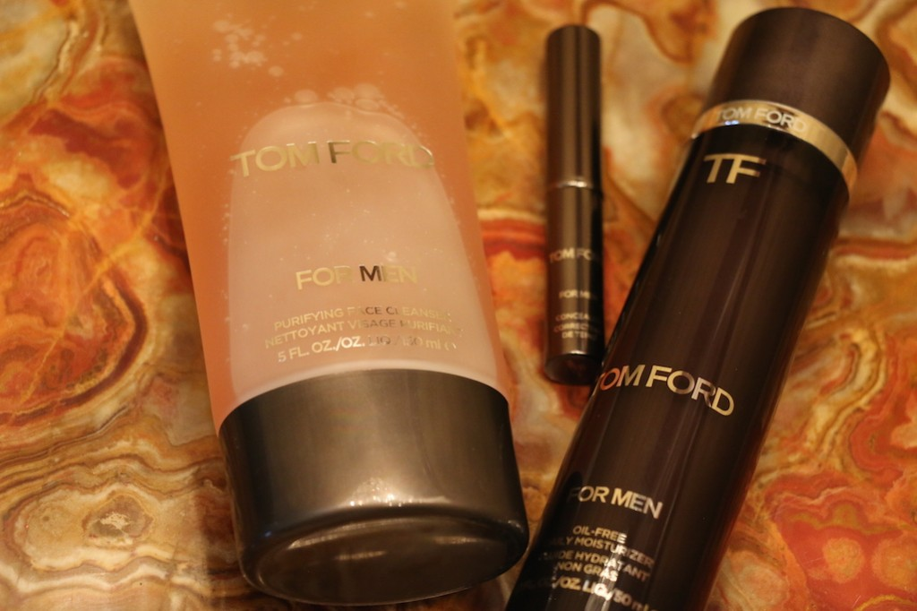 Not yet available in SA - the Tom Ford Men's Grooming Range