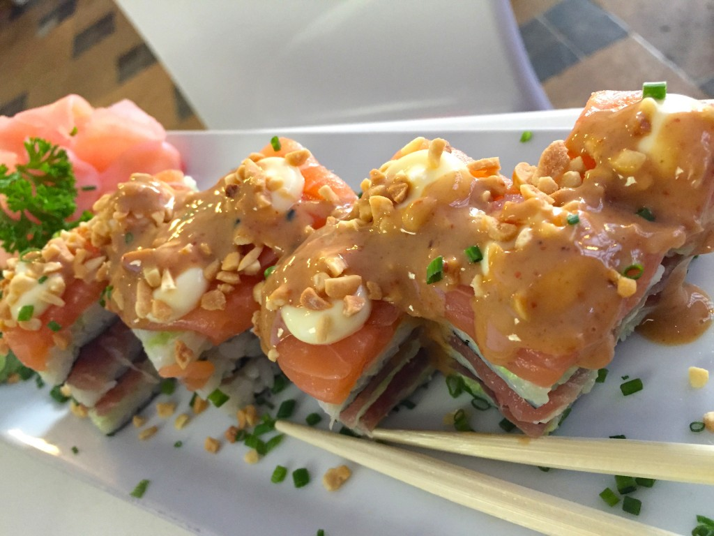The Nuri Stack from Nuri Sushi in Cape Town.
