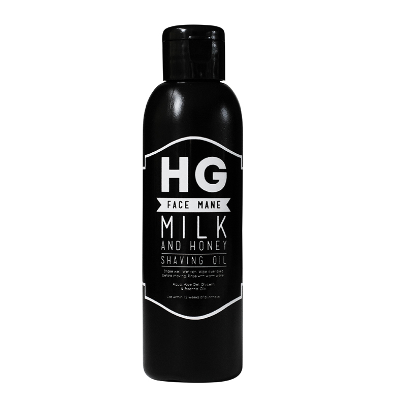 HG For Bros Face Mane Milk & Honey Shaving Oil