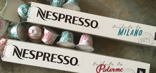 The new limited edition Italian coffee range from Nespresso!