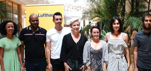 Finalists of the Lufthansa 1st Best Collections at SA Fashion Week: Somerset Jane, T'Niche, Lumin, Greerkyle, and Heart & Heritage