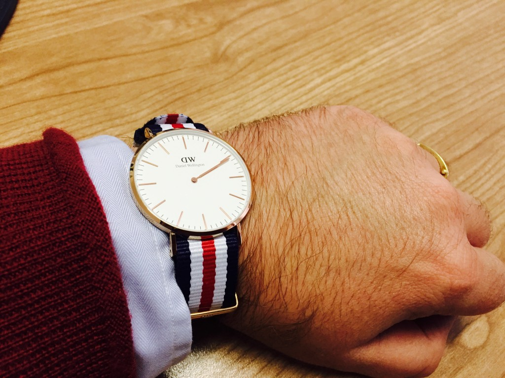 Daniel Wellington 40mm Rose Gold Classic Canterbury