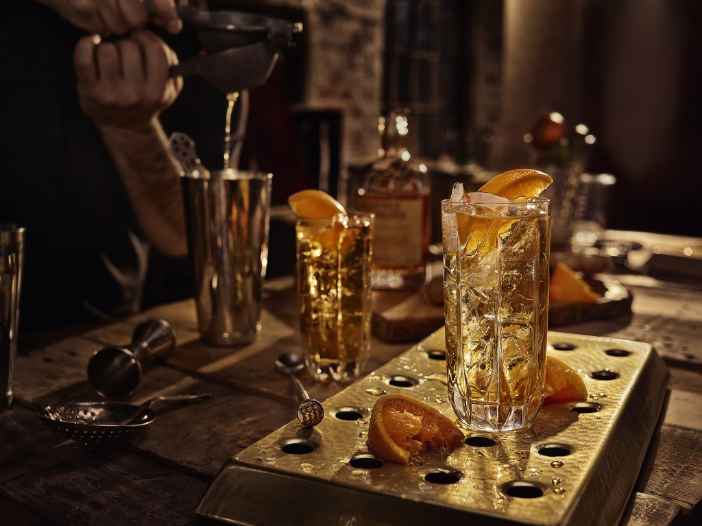 Monkey Shoulder's whisky cocktail: The Ginger Monkey.